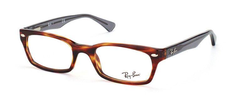 7f3967ebd10d6 Ray Ban Frames Unisex Eyeglasses Tortoise Gray ORX5150 5607 52 mm RB 5150F   RayBan