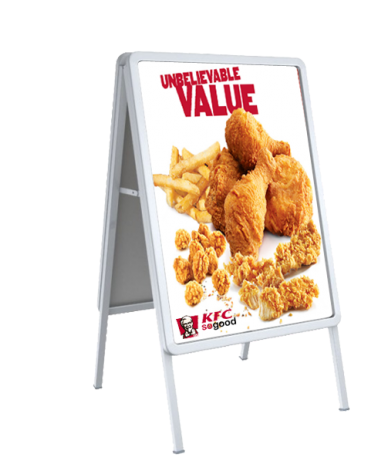 Best Promote By #outdoor #display #frame #stand, #banner #stand And #poster  #stand We Offer Best At #displaysolution. Click Here ...