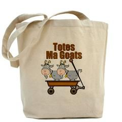 Totes Ma Goats Tote Bag The Puns Keep Coming With This Funny Animal Two Cute Being Toted In A Wagon I M Always Saying Mcgoats