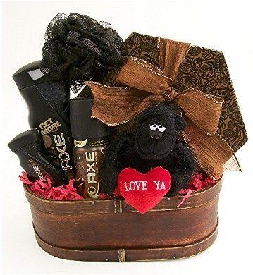 valentine gift for men | holidays <3 | pinterest | gift, basket, Ideas