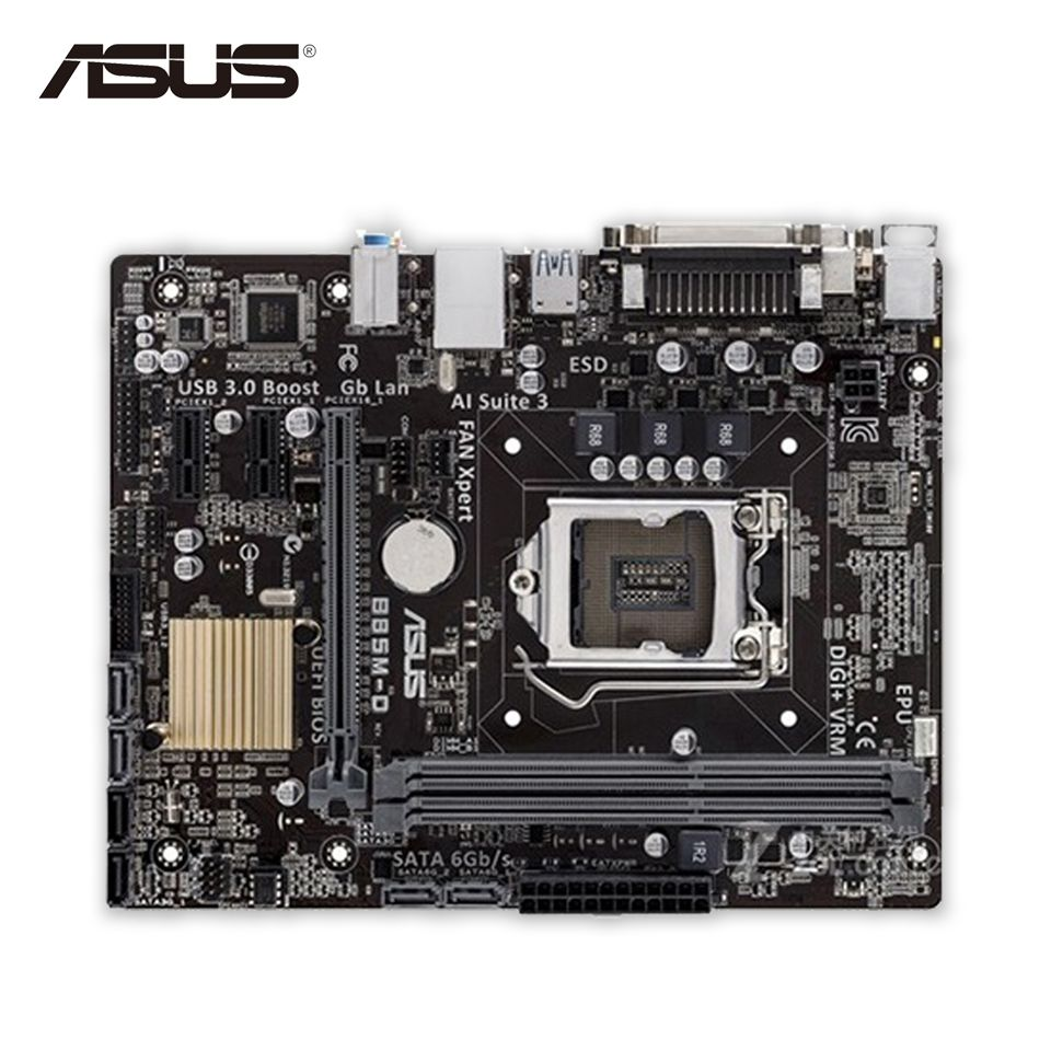 Asus B85m D Original Used Desktop Motherboard B85 Socket Lga 1150