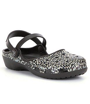 Crocs Annika Leopard Clogs