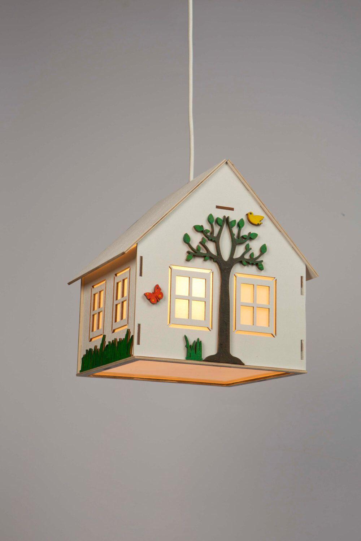 Kids Lamp,childrenu0027s Lamp,lamp For Baby,hanging Wooden Lamp,kidsu0027