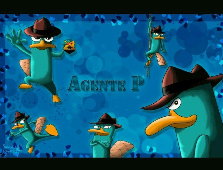 Secret Agent P Perry The Platypus Pluto The Dog Platypus