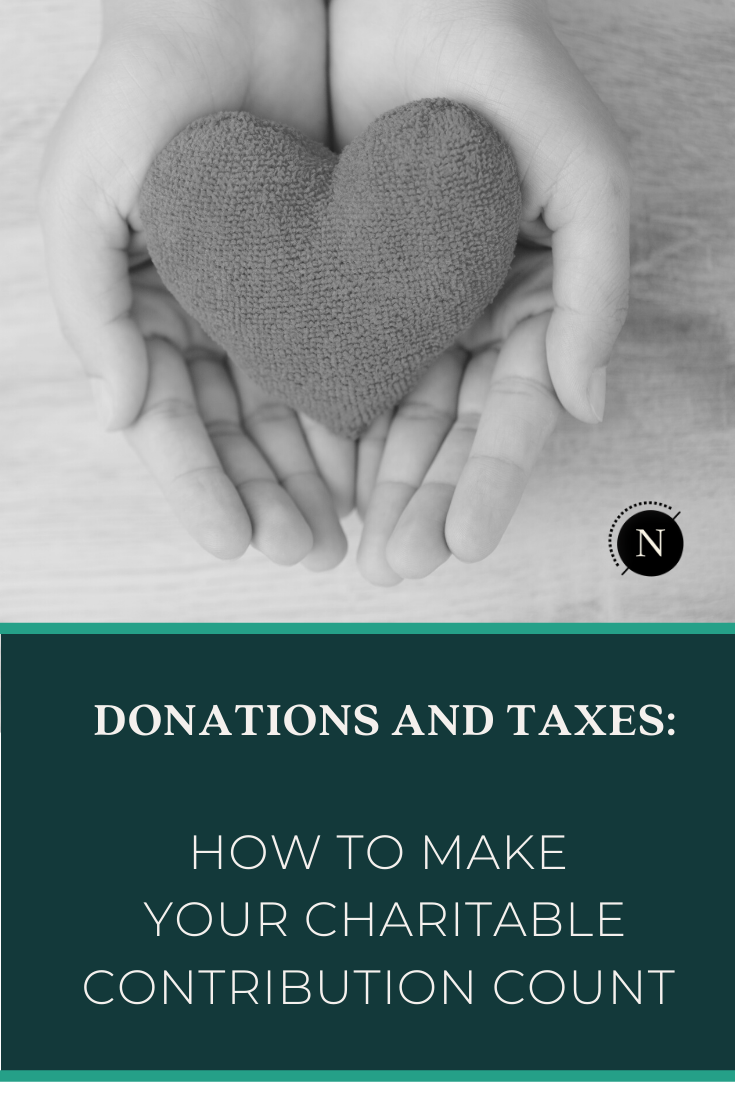 The end of the year is approaching and so is your deadline to make a charitable contribution that does the world -and your pocketbook- some good! How does it work? How do you choose the right nonprofit? We help you navigate the world of #charitablegiving. #donations #taxdeductions #dogood #begood #changemaker