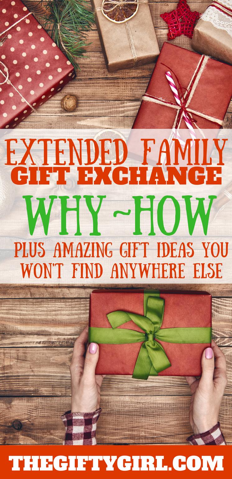 Creative family christmas gift exchange