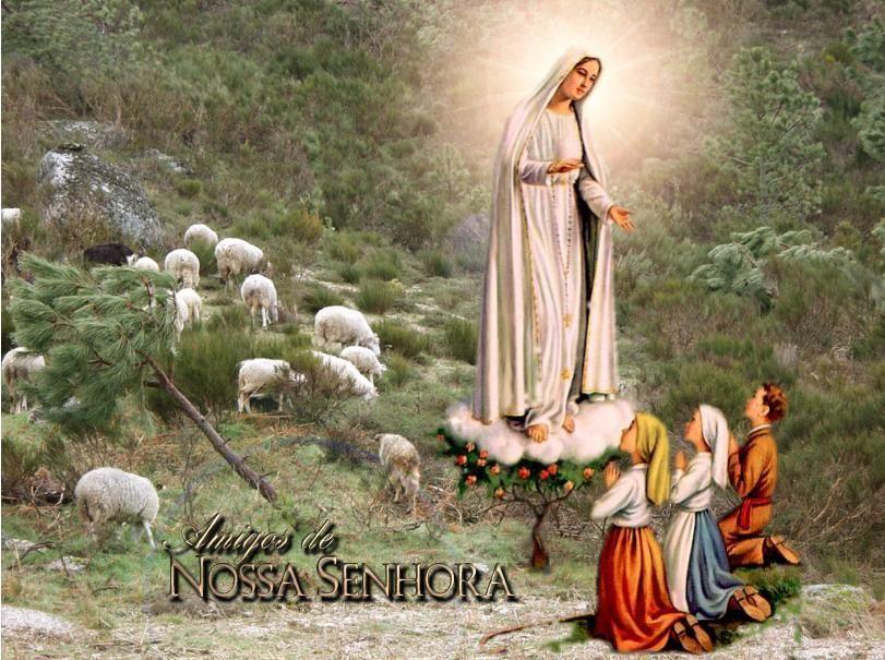 13 De Maio Dia De Nossa Senhora De Fatima Nossa Senhora De