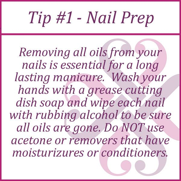 Nail Prep Tip | Nails step by step | Pinterest | Jamberry, Jamberry ...