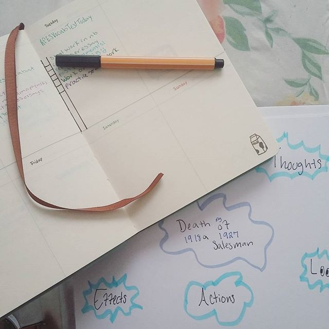 new video up on youtube!!! [link in bio]😄😄 working on another mind map to get some English work doneee!!!! •●○•●○•●○•●○•●○•●○•●○•●○• #mindmap #studygram #blue #molang #studyblr #stationery #molangdiary #stabilo #student #studyspo #studystudystudy #school