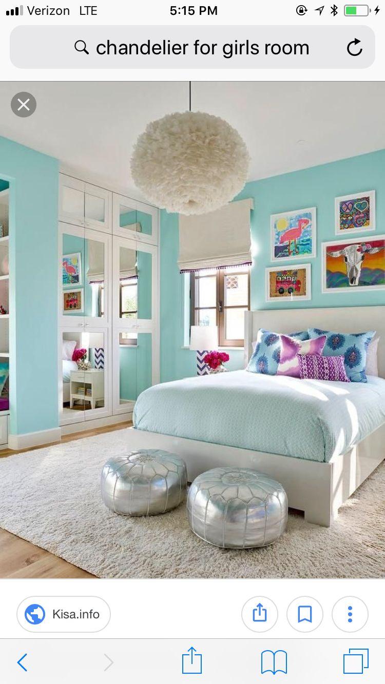 My Dream Room Girls Blue Bedroom Turquoise Room Remodel Bedroom