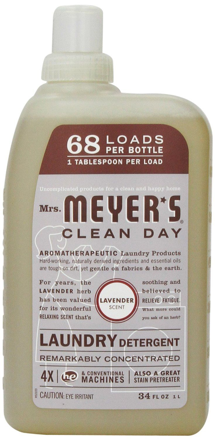 Amazon Com Mrs Meyer S Clean Day Liquid Laundry Detergent