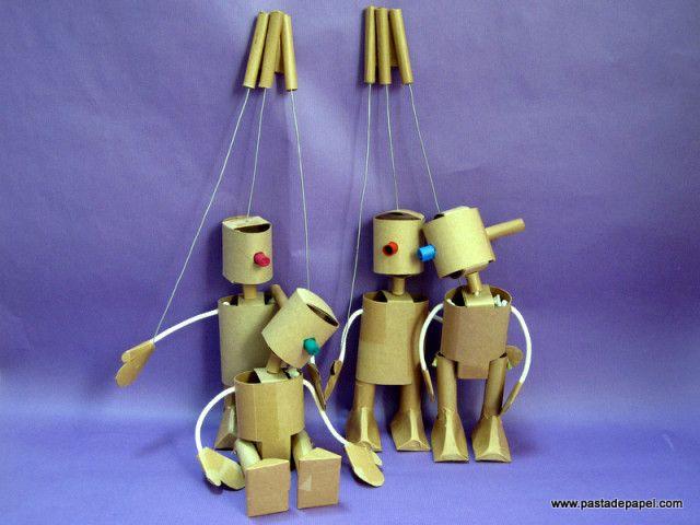 01 titeres sobremesa plastica pinterest marioneta - Como hacer marionetas de mano ...