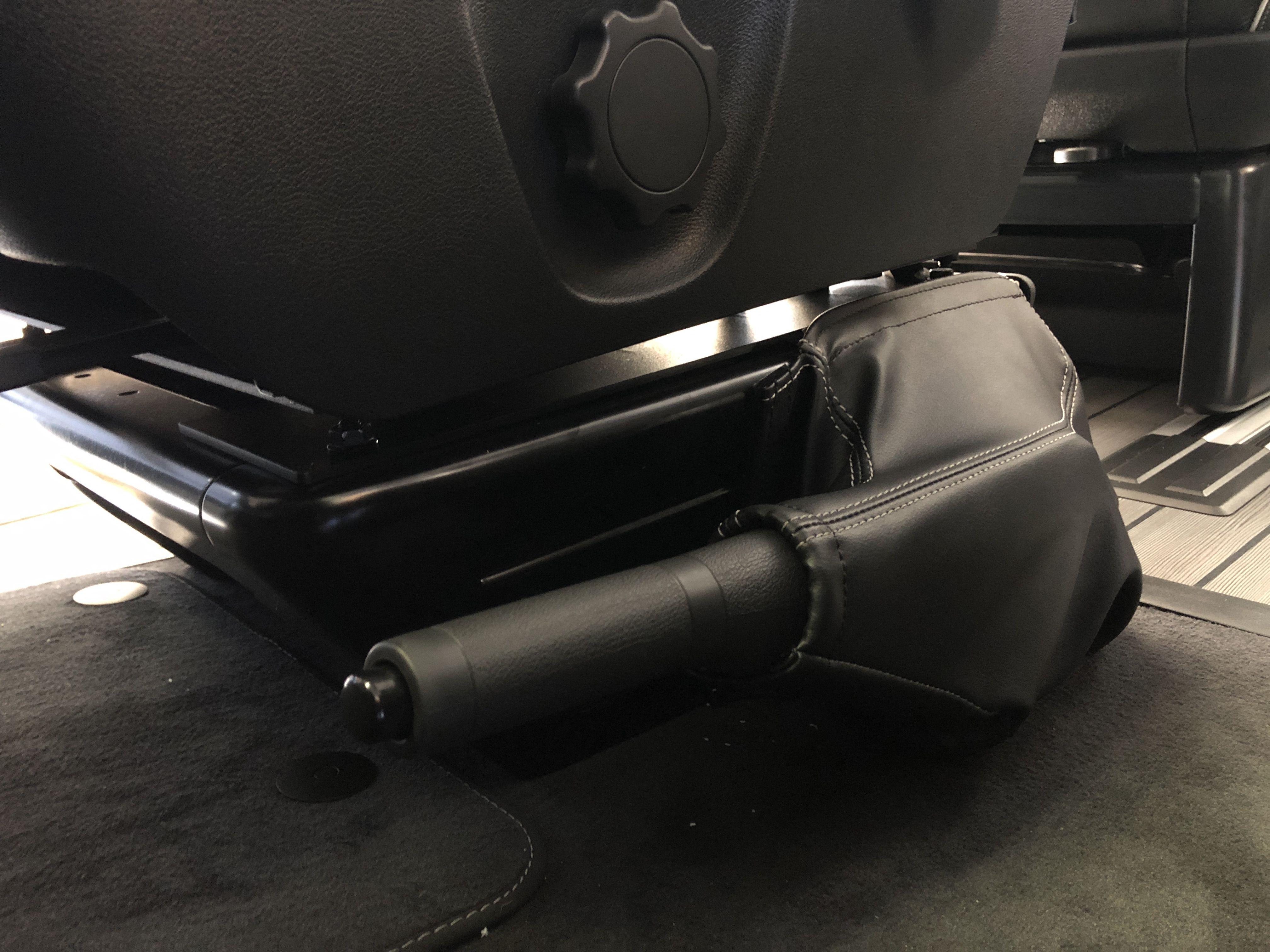 Cover For Handbrake Lowering Kit Installed In Vw T5 T6 Multivan Transporter And Caravelle In 2020 Multivan Vw T5 Cover