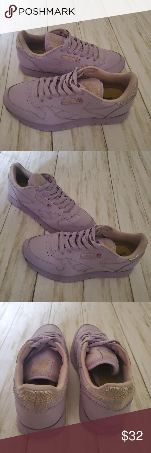 Reebok Classic Purple Shoes   Purple