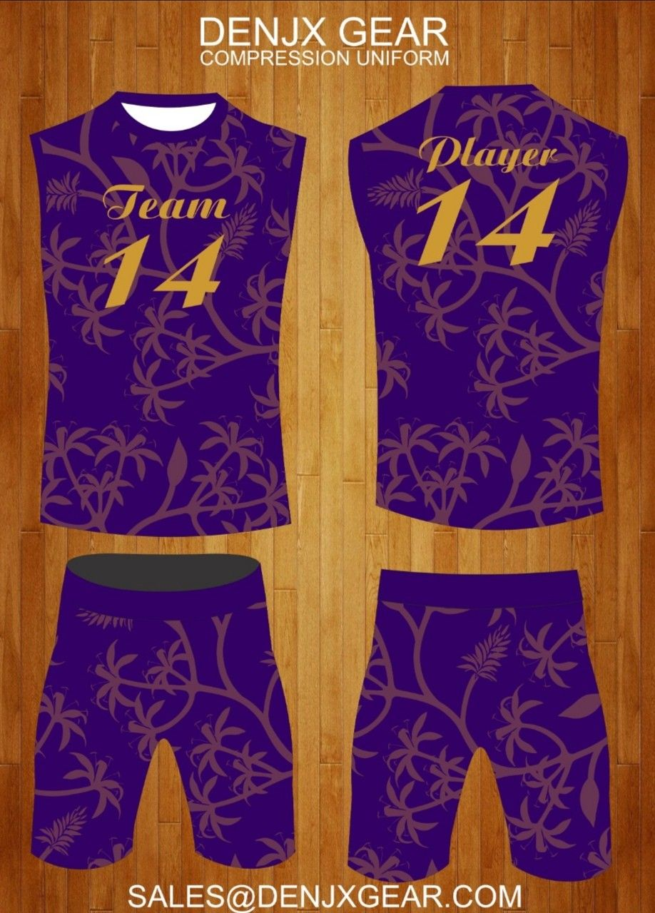 Fully Customized Compression Uniforms Flag Football 7on7