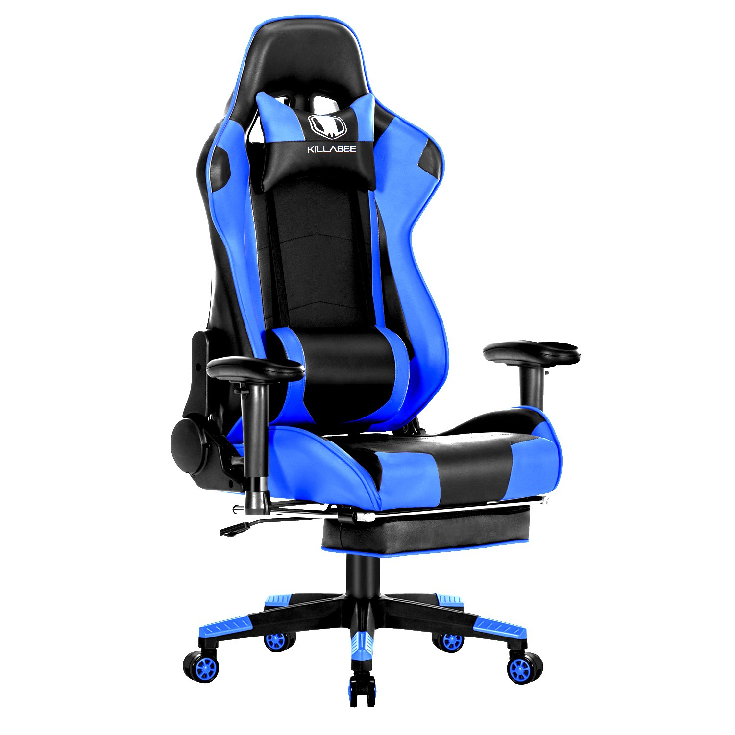 Marvelous Killabee 8204 Blue Gaming Chair Games Chair Gaming Pdpeps Interior Chair Design Pdpepsorg