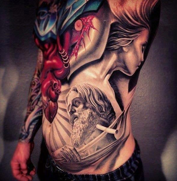 Jaw Drop Ink Tattoos: Best Chest Tattoos - Jaw-Dropping Ink Masterpieces