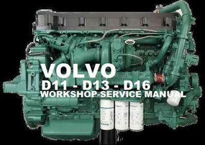 Volvo D13 Service Manual