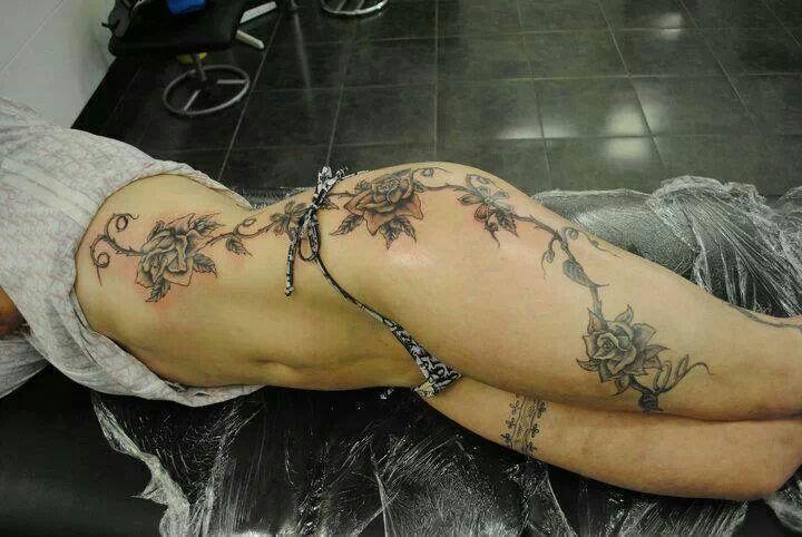 Trailing rose