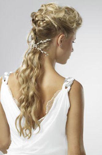 peinado diosa griega