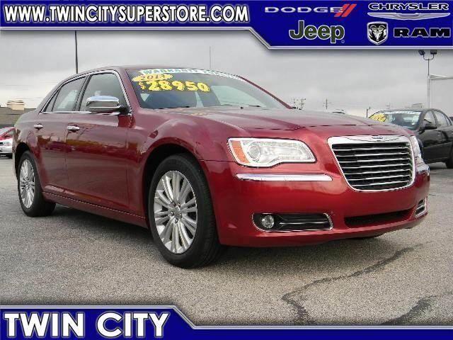 2013 Chrysler 300C, 32,970 miles, $28,950.