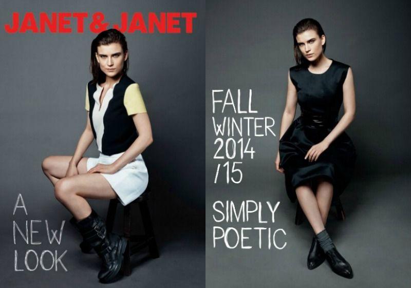 Mix di stili per le scarpe Janet