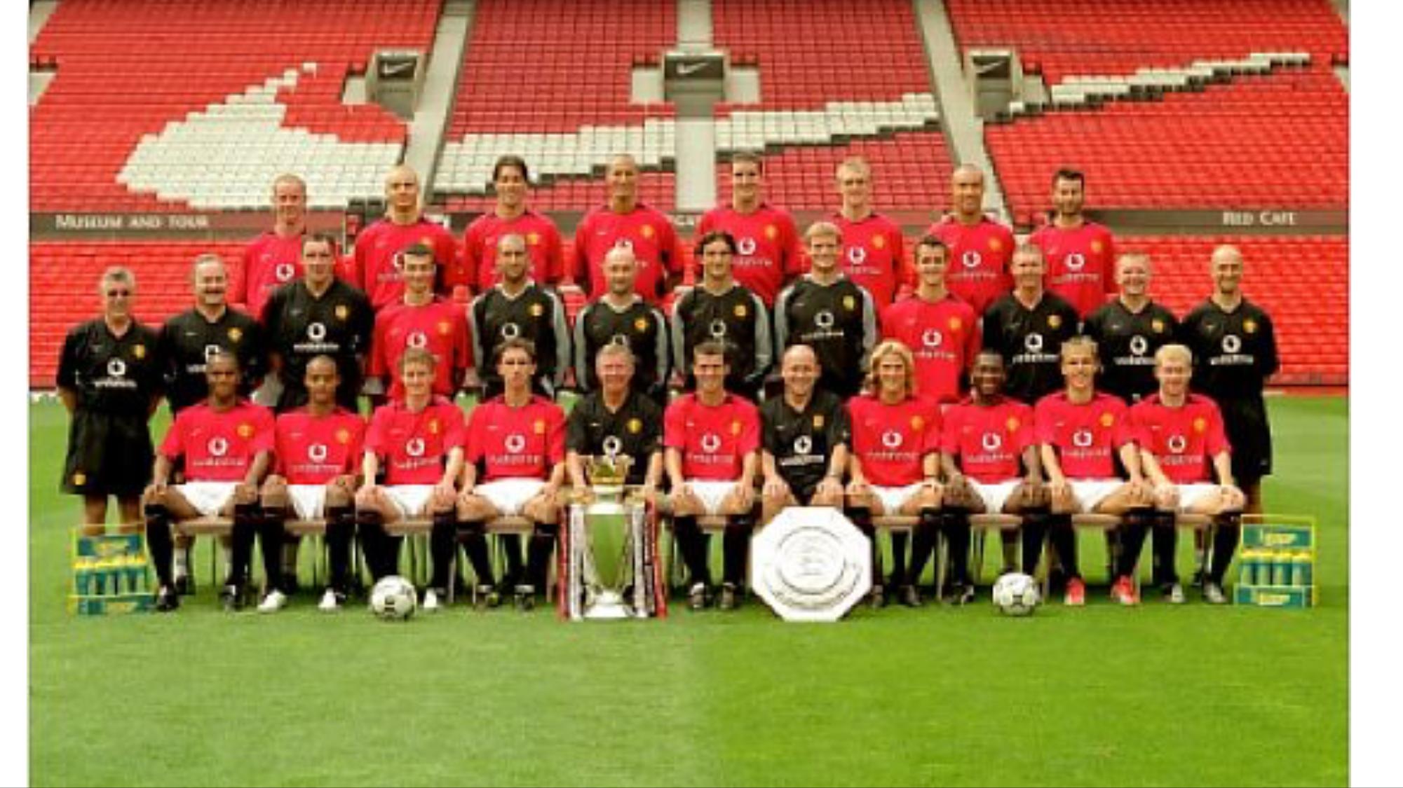 Manchester United 2003 04 Manchester United Manchester United Players Manchester United Team