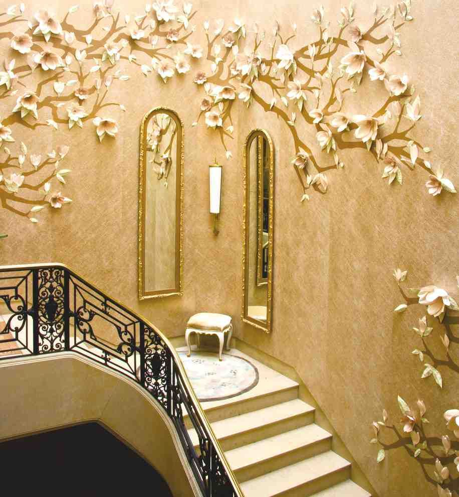 Staircase Wall Decorating Ideas | Mondean