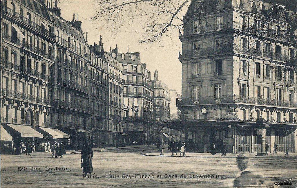 Paris Rue Gay Lussac Kestener