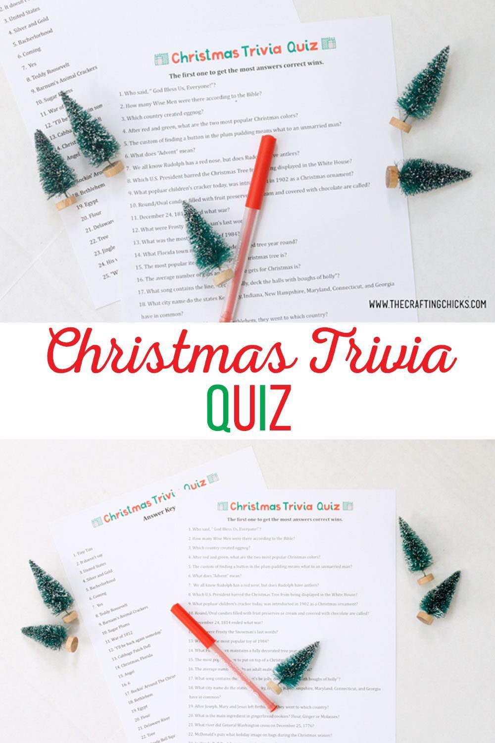 You can make your own Christmasthemed treasure hunt clue