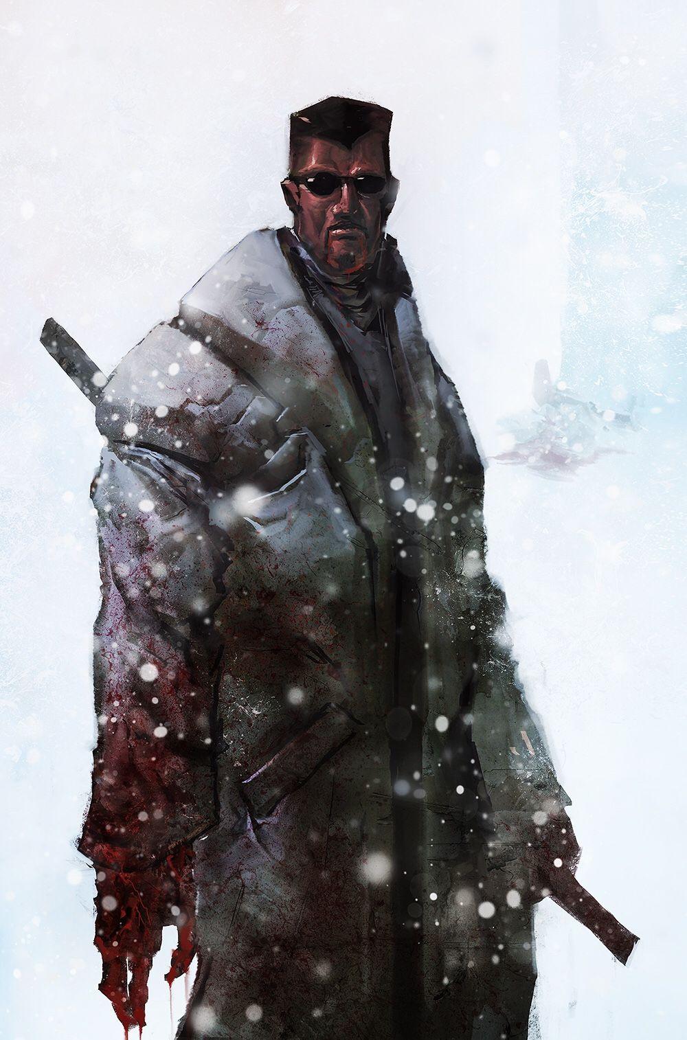 Blade by AARON NAKAHARA Blade marvel, Marvel characters