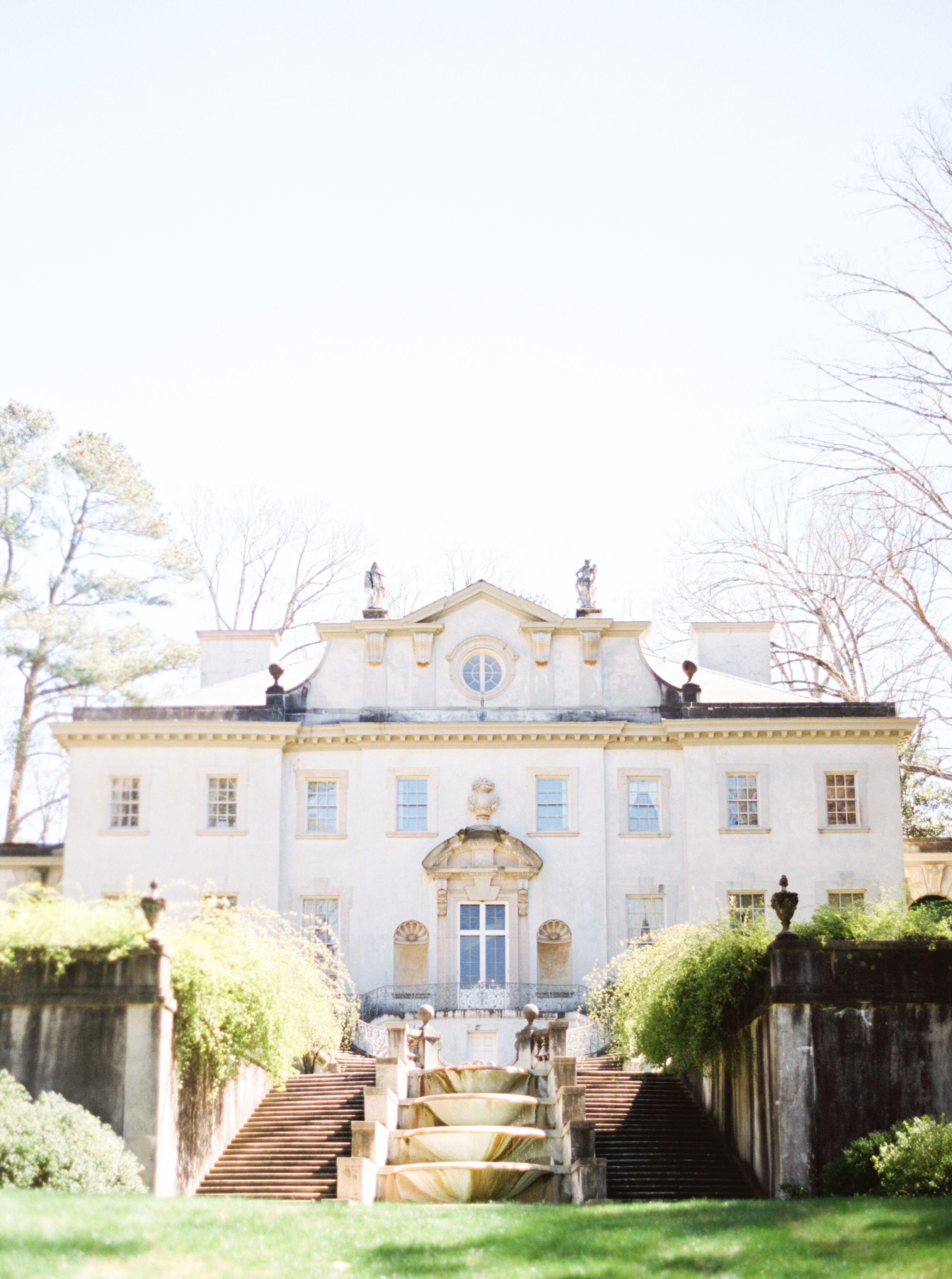 Spring Swan House Wedding Inspiration Swan house wedding
