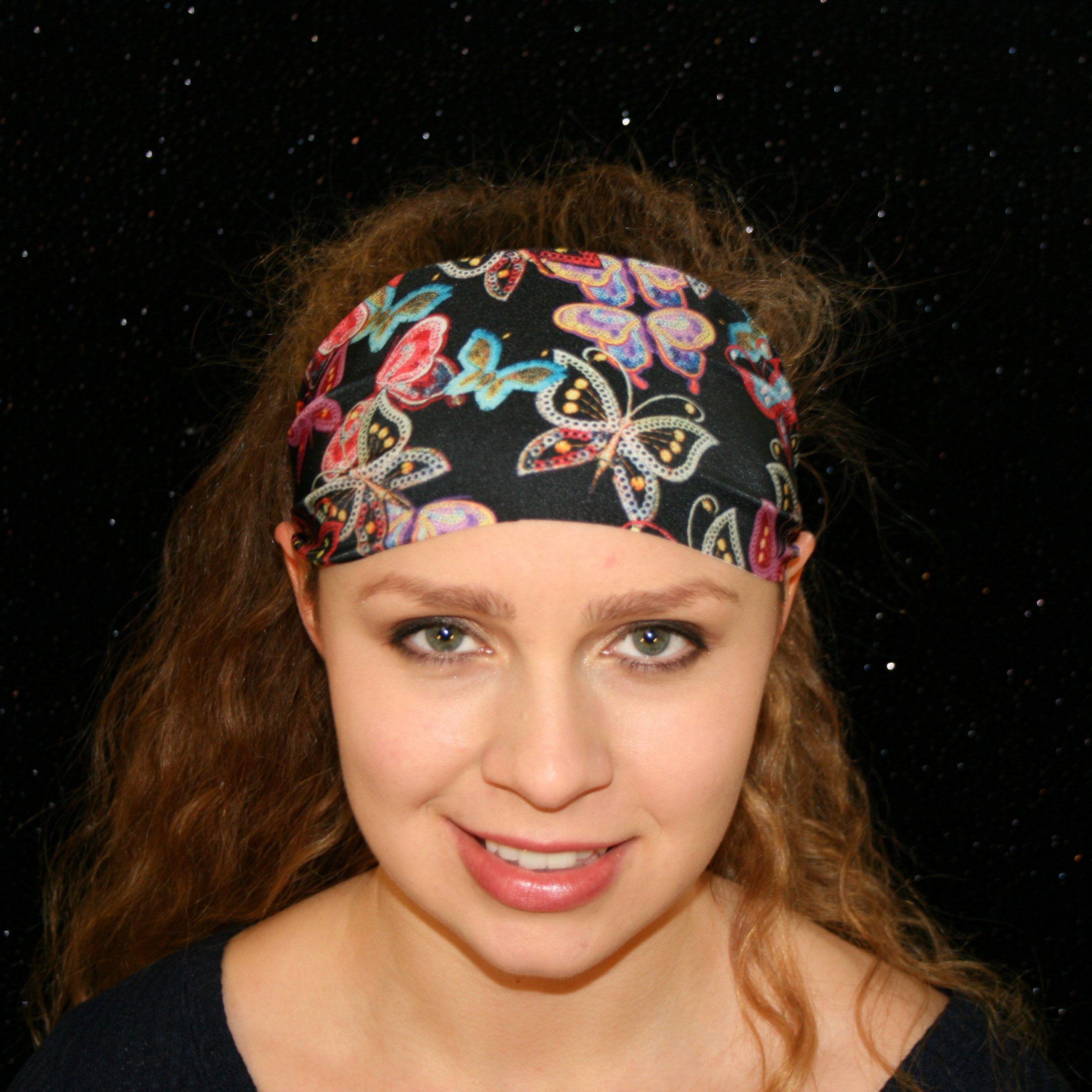 Revelry Yoga Headband Workout Headband Running Headband Boho Headband Wide Headband Fitness Headband...
