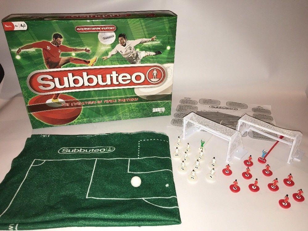 Subbuteo International Playlset Boxed Football Game Set