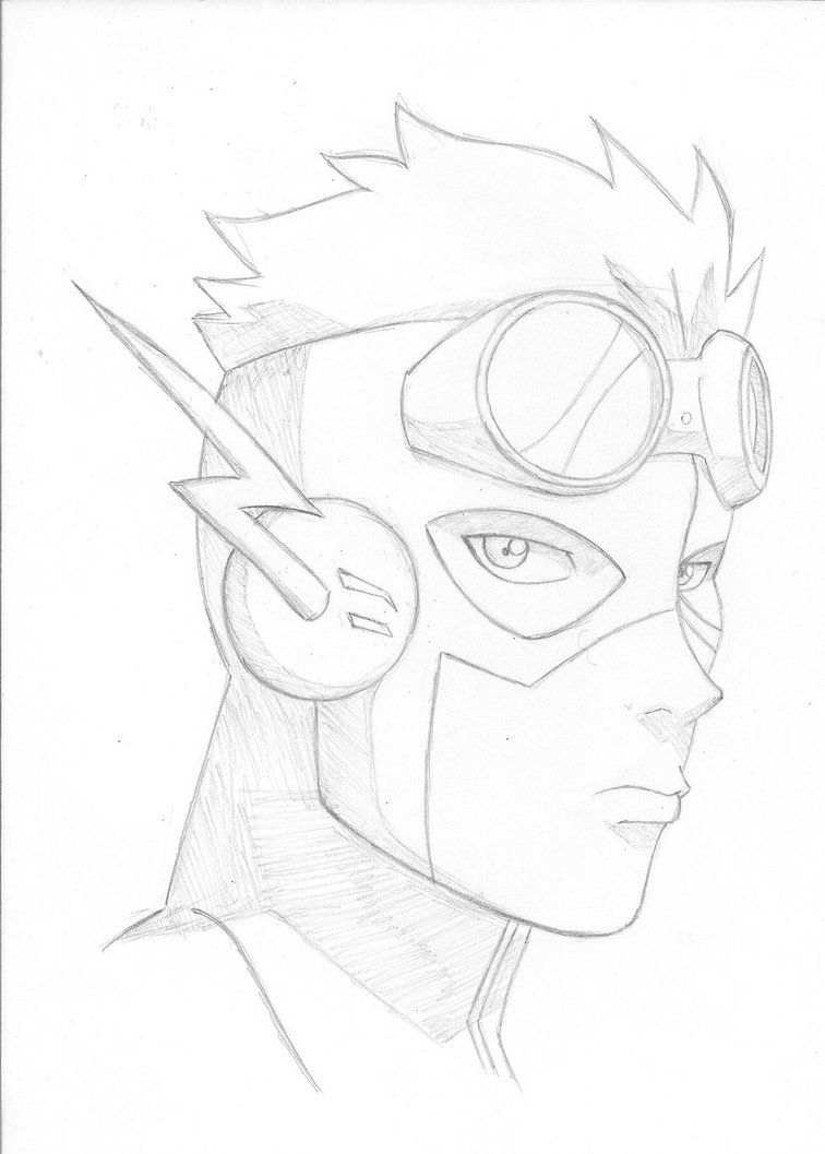 Young Justice Kid Flash By On DeviantArt
