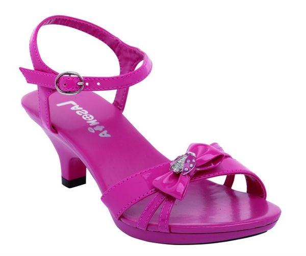 girls fuschia dress shoes | fuschia flower girl shoes | shoes ...