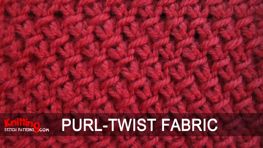 How To Knit The Purl Twist Fabric Stitch Diagrams And Sketches