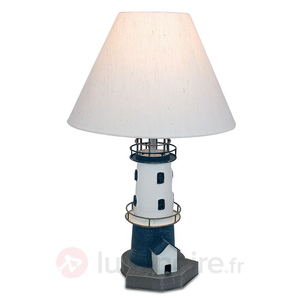 lampe poser piet en forme de phare forme de phare et. Black Bedroom Furniture Sets. Home Design Ideas