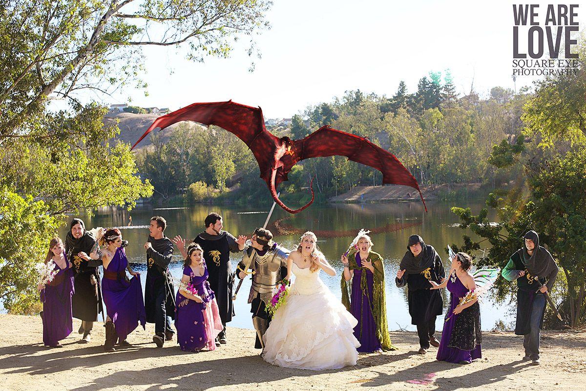 Larp Wedding Fantasy Wedding Knights And Maids Cosplay Wedding