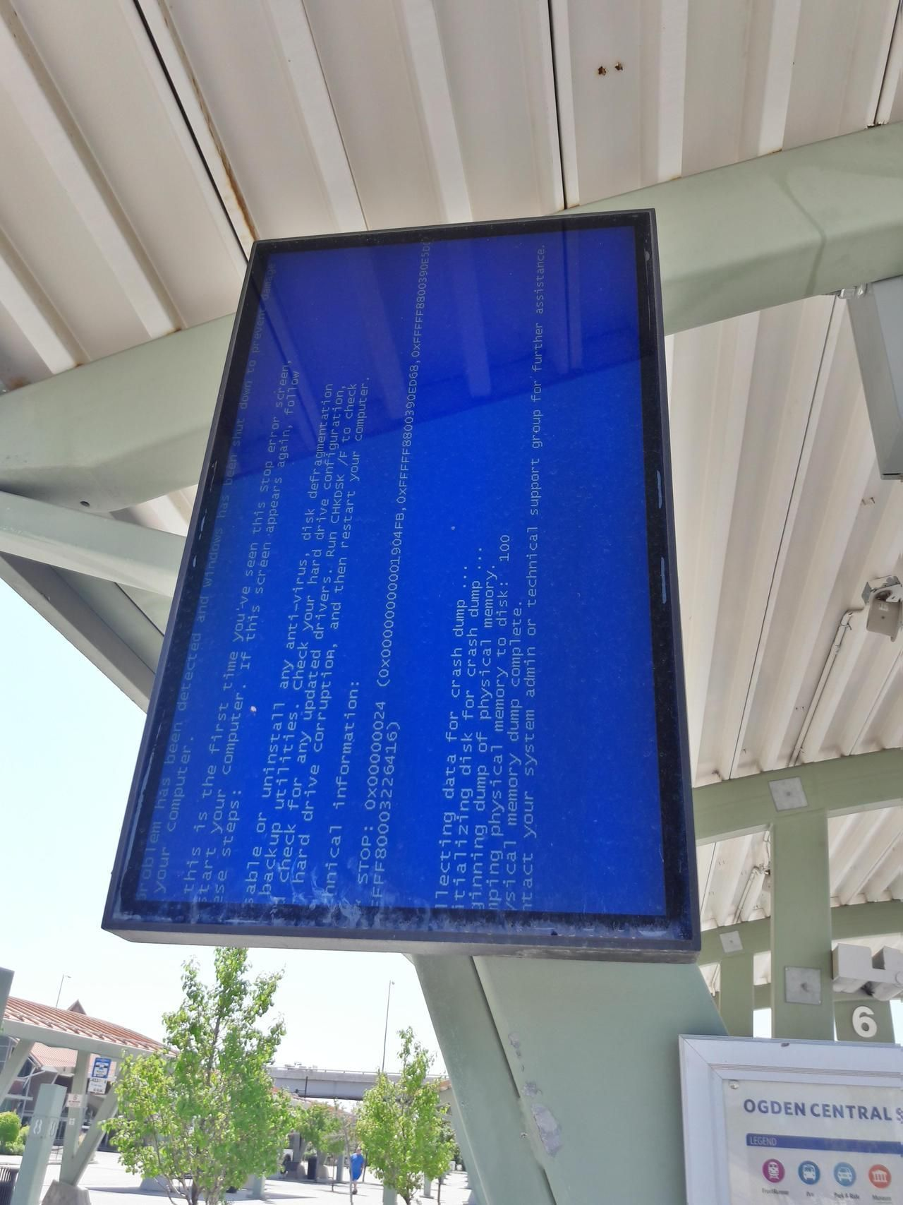 The Bus To Technoland Has Broken Down Bsod Pbsod Blue Screen Break Down Bsod