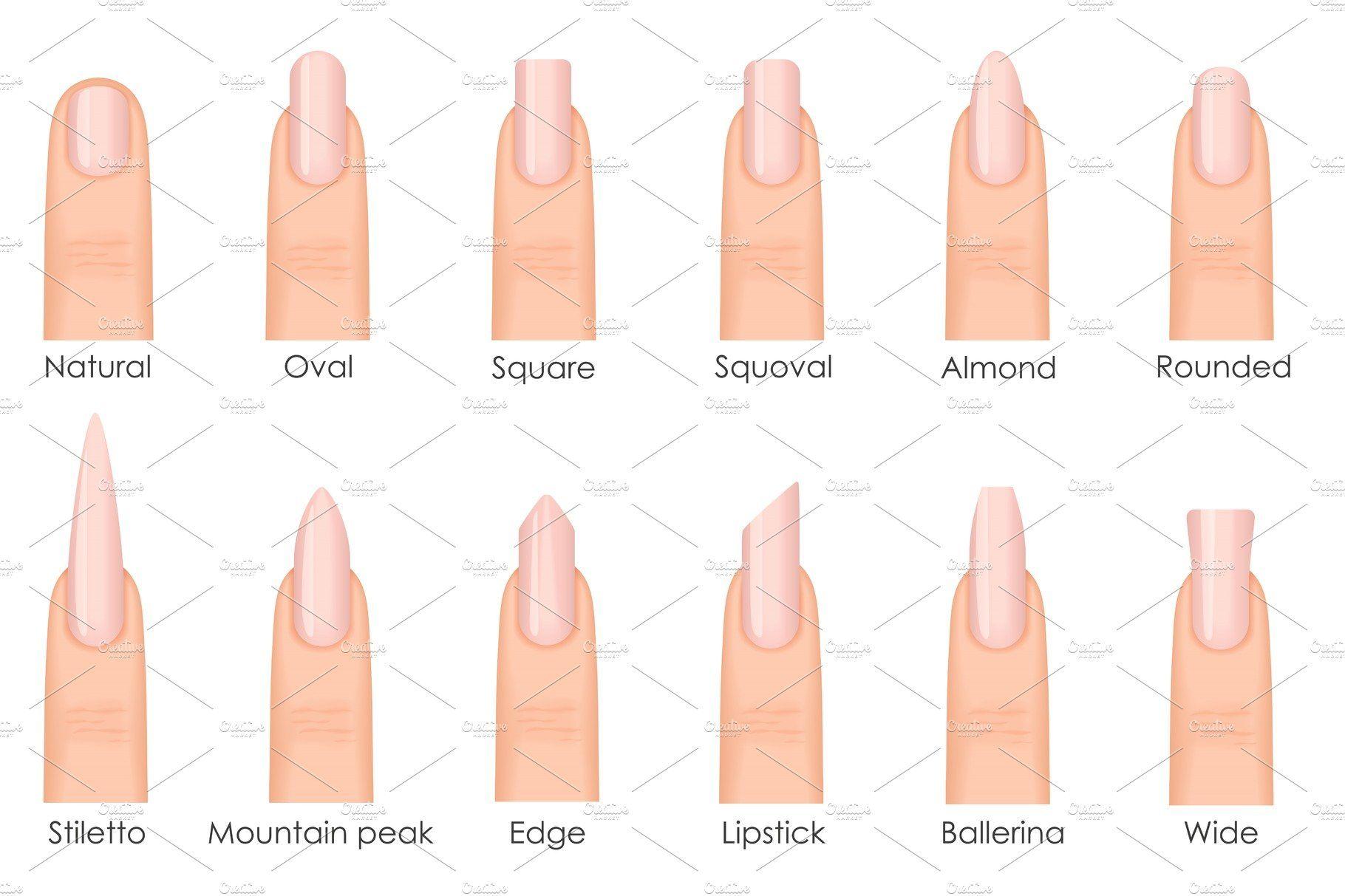 Формы ногтей для наращивания фото виды