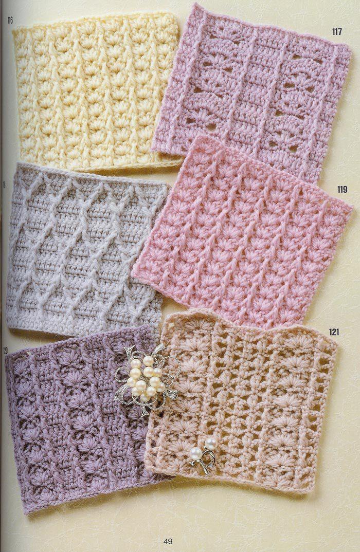 SOLO PUNTOS: Crochet puntos calados | hekel steke | Pinterest ...