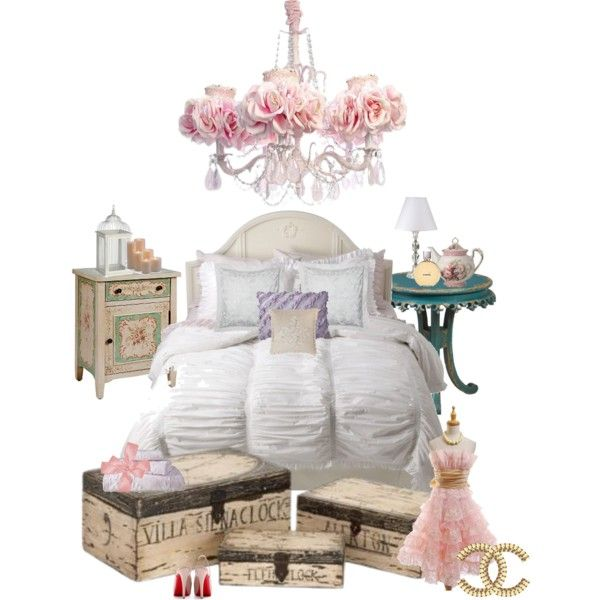 """""""shabby chic"""" by lenalopez on Polyvore"""