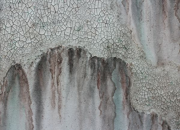 Emerging - Painting by Sylvia Sotuyo. Fine art prints and posters available! #texture #crackles #relief #ancient #painting #wallart #artprint #decor #tribal #gifts