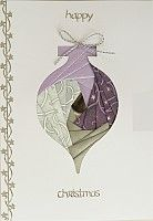 #iris folding ornament  visit me at My Personal blog: stampingwithbibia...