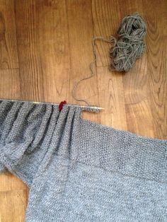 mais un peu long à faire quand même ! Ca faisait un petit moment que  j avais envie de me tricoter un pull. Mais assembler plusieurs parties de  tricot pour ... 3e836b553d9