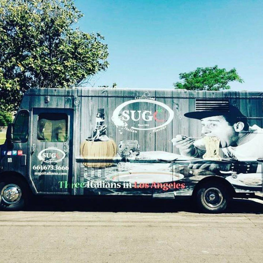 Sugo - Traditional Italian Flavour Food Truck | L.A. Street Eats ...