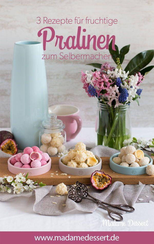 Süßer Sommer –Fruchtige Pralinen zum Selbermachen   Werbung