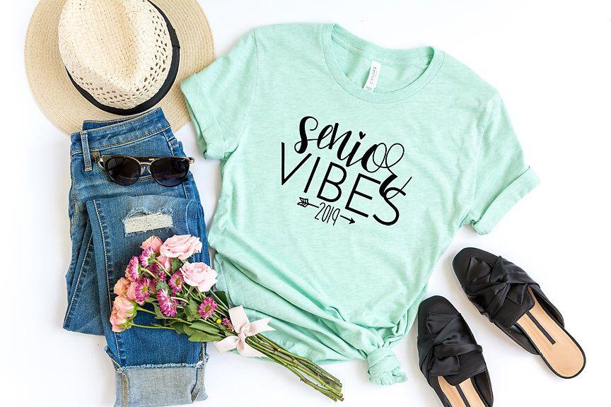 Class of 2019 shirt senior vibes 2019 seniorella