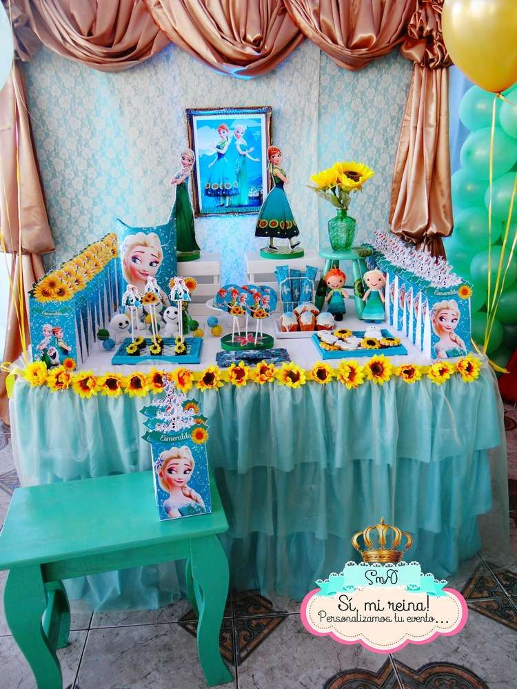 Amazing Frozen Fever birthday party! See more party ...